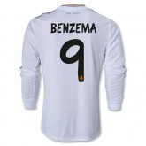 Maillot Football Real Madrid FC BENZEMA 9 Manche longue Domici