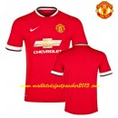 Maillot Manchester United 2014 2015 Rouge Domici