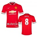 Maillot Manchester United 2015 Mata Domicile Rouge