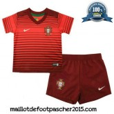 Maillot Portugal juNior coupe du monde 2014 Domicile