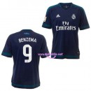 Maillot Real Madrid Benzema 2016 extérieur