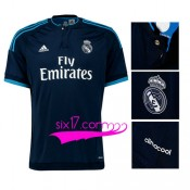 Maillot Real Madrid Troisieme 2015 2016 col boutons bleu