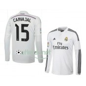 Maillot Real madrid 2014 prix Carvajal Domicile blanc manches longues