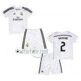 Maillot Real madrid prix 2015 juNior Varane Domicile blanc