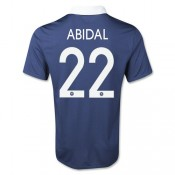 Maillot foot Coupe du Monde France (ABIDAL #22) Domici 2014