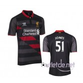 Maillot football liverpool 2014 2015 Jones troisième Nior