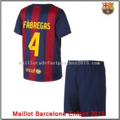 Maillot juNior Barcelone Fàbregas 2014 2015 Domici