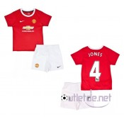 Maillot kit Manchester United 2014 enfant Jones Domicile Rouge