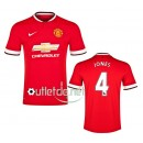 Maillot store Manchester United 2015 Jones Domicile Rouge