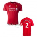 Maillots liverpool 2014 Johnson Domicile Rouge