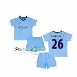 Man city Maillot 2014 juNior Demichelis Domicile bleu