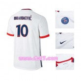 PSG équipe IBRAHIMOVIC Maillot PSG 2016 exterieur blanc col V magasin foot