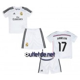 Real madrid nouveau Maillot 2014 juNior Arbeloa Domicile blanc