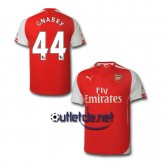 Site officiel Maillot Arsenal 14/15 Gnabry Domicile Rouge
