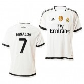Site officiel Maillot Real madrid Ronaldo 2016 blanc domicle