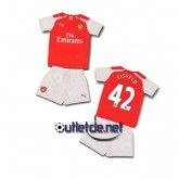 Tenue Arsenal 2014 juNior Eisfeld Domicile Rouge