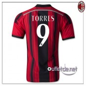 The Official AC Milan Maillot 2014-15 Torres Domicile