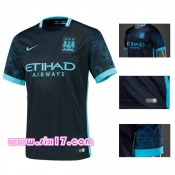 le Magasin Maillot exterieur manchester city 2015 2016 bleu ciel une tunique Football