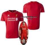liverpool football club Rouge 2015 domicile